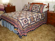 quilted bed.jpg (176540 bytes)
