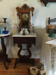 clock and end table.jpg (68633 bytes)